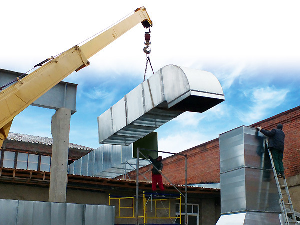 проектирование промышленной вентиляции