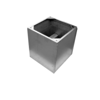 Крышной короб с шумоглушителем для монтажа на плоской кровле RCS 710