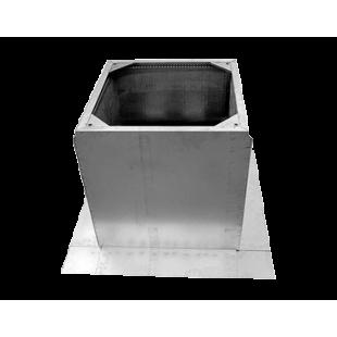 Крышной короб для монтажа вентилятора на плоской кровле RCV 560/630