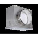 Воздушный фильтр-бокс Аэроблок с фильтром для круглых воздуховодов FBCr 100